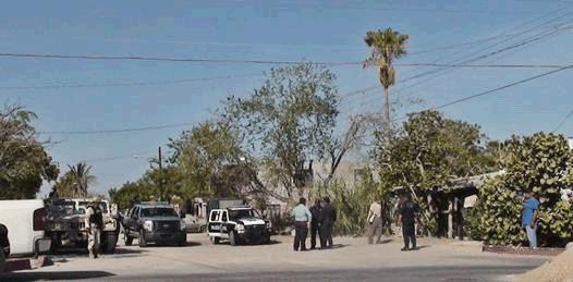 Movilización policiaca en Los Olivos