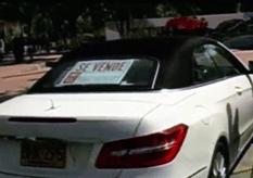 El cura vendió su Mercedes
