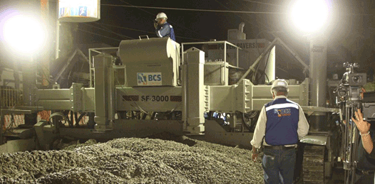 Casi una panacea el concreto hidráulico de las nuevas calles