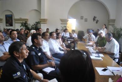 Sesiona el Consejo Municipal de Protección Civil