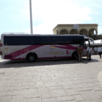 Transporte color de rosa
