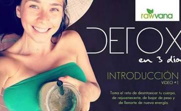 DETOX de jugos en 3 días (introducción)