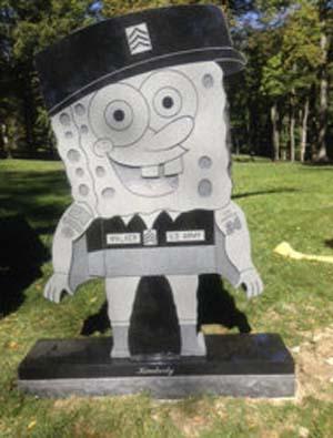 Lapida de Bob Esponja