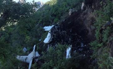 Trasladan a Sinaloa los cuerpos de víctimas del avionazo