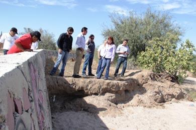 Preparan proyectos para encauzamiento de aguas en la capital