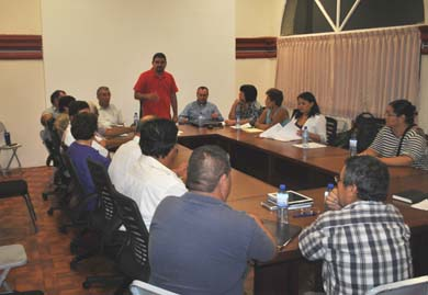 Se reunió Alcalde con sectores productivos