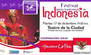 Festival de danza indonesia
