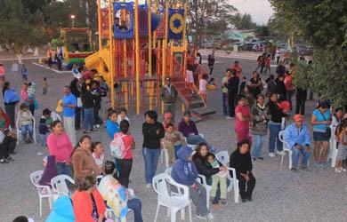 Construyen parques en Fovissste Valle Paraíso y Andador Telmex