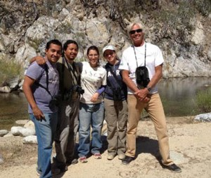 De izquierda a derecha: Emer García, Gerardo Marrón, Mariel Reyes, Nallely Arce y Gary Strachman.