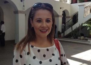 Ana María Wilson, regidora y presidenta de la Comisión Edilicia de Estudios Reglamentarios y Legislativos.