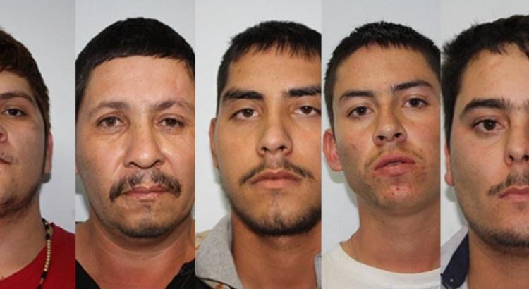 Maleconeaban armados y en auto robado