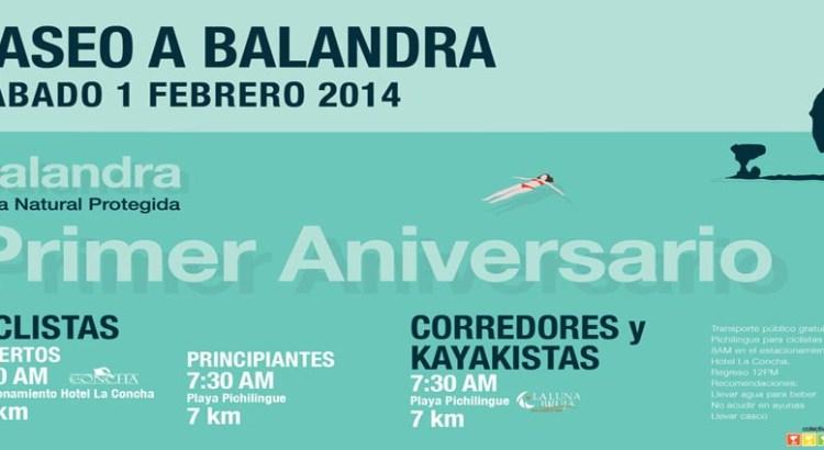 A pedalear por Balandra
