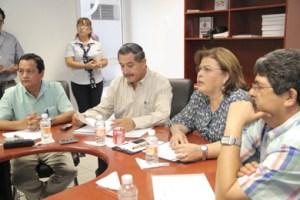 La alcaldesa de La Paz y Presidenta de la Red Mexicana de Municipios por la Salud