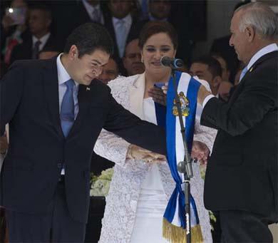 Tiene Honduras nuevo presidente