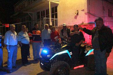 Entregan moto patrulla a Isla San Marcos
