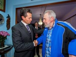 EPN y Fidel