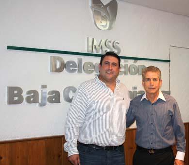 Se reúne Barroso con el delegado del IMSS
