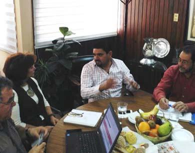 Se reunió el Alcalde con la delegada de SEDESOL