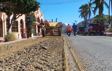Este mes concluirán obras en la salida a Todos Santos