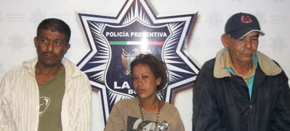 Javier Sández Lucero, María Guadalupe Peralta Hernández y Gilberto Silva  Geraldo.