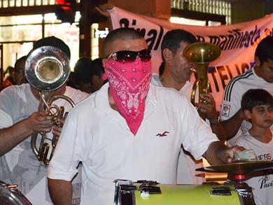 Marcharon por «El Chapo»