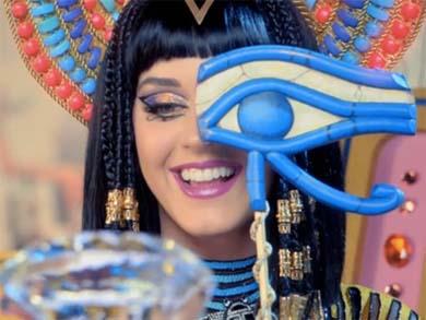 Katy Perry sorprende como Cleopatra