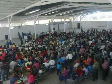 Apoyarán a la comunidad oaxaqueña de Vizcaíno
