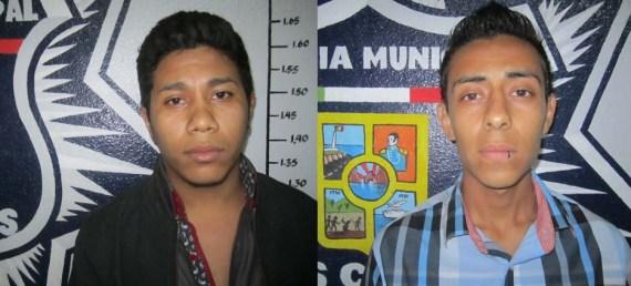 José Guadalupe Campos Petatán y Edgar Ramiro Guerra Arvizu.