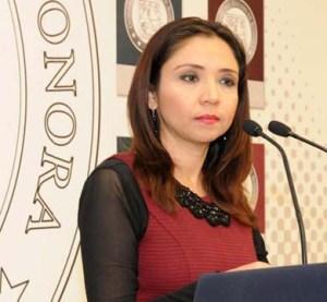 Cristina Ramírez Peralta, titular de la Dirección de Registro Civil