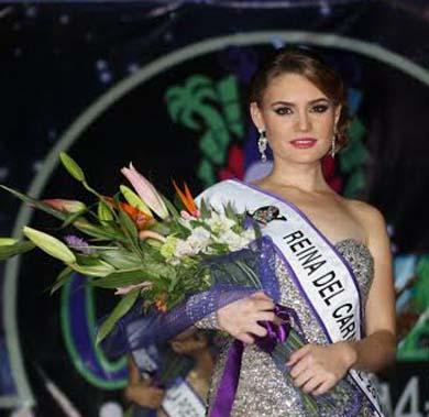 Dulce I será la Reina del Carnaval La Paz