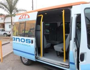 transporte Santa Rosalia