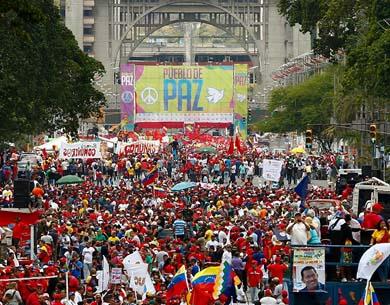 Recrudece la violencia en Venezuela