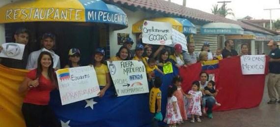 Venezolanos radicados en Cabo San Lucas
