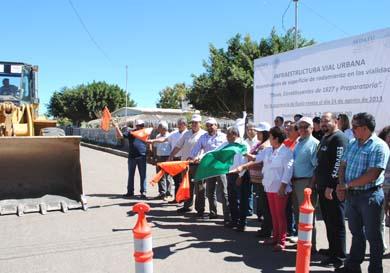 Inició reconstrucción de las calles Davis, Constituyentes y Preparatoria