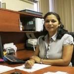 La directora de Ingresos, Norma Alicia Flores Carrillo.