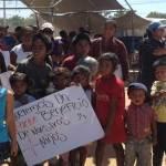 Vecinos de Vista Hermosa se manifestaron debido a la próxima construcción de una subestación eléctrica en el Parque Enllantado.