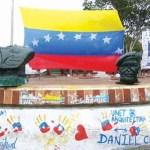 busto del presidente Hugo Chávez
