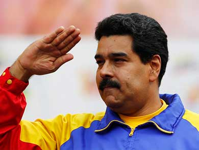 Maduro se solidariza con México