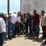 Guillermo Santillán Meza y el senador por Oaxaca, Benjamín Robles Montoya