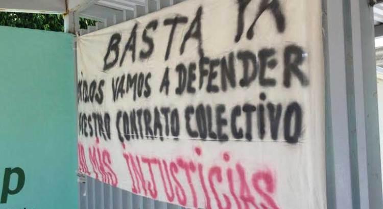 Viola Alfredo Carballo Ruiz el contrato colectivo de CONALEP