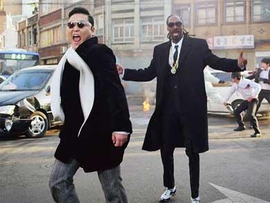 Psy la hace de nuevo