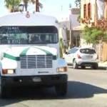 ataques a las unidades del transporte público