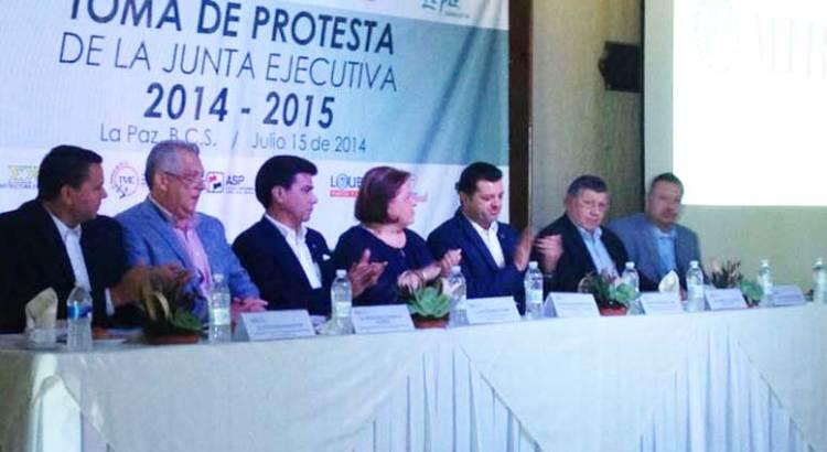 Toman protesta al Consejo Coordinador Empresarial de La Paz
