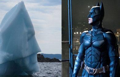 !Santos icebergs Batman!