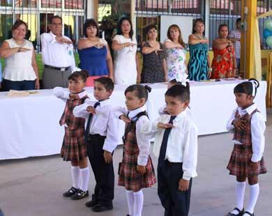 Fin de cursos en el Jardín Juan Pablo L. Martínez