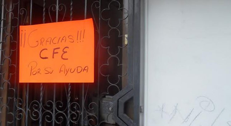Ciudadanos de La Paz agradecen apoyo