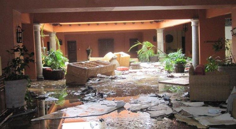 Alentadora la reconstrucción de los hoteles