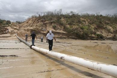 Suministra OOMSAPASLC agua a través de pipas