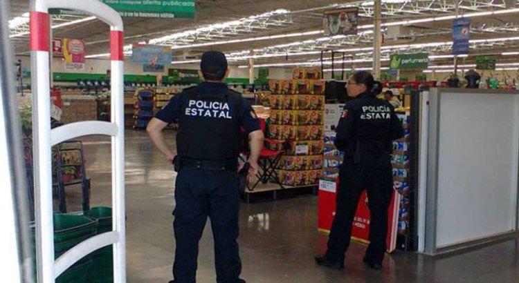 Refuerza la PEP seguridad en plazas comerciales