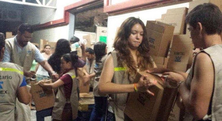 Inicia la entrega de ayuda de Telmex a comunidades afectadas